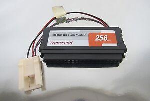 Transcend-40-pin-IDE-Flash-Module-256MB-3HAC020988-008-3HAC-020988-008