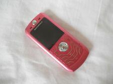 COMPLETE Retro MOTOROLA Motorola SLVR L6 - Pink Mobile Phone FULLY WORKING