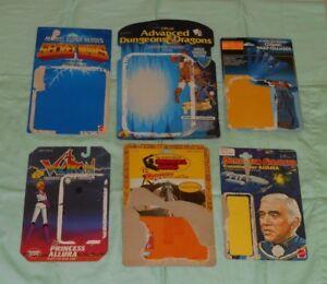 1980's Cardback Lot Voltron Rotla Cheval Arabe Ad & d Mandoom Interchangeable