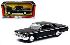 1962 Chevy Impala SS Coupe Die-cast Car 1:24 New Ray 8 inch Black