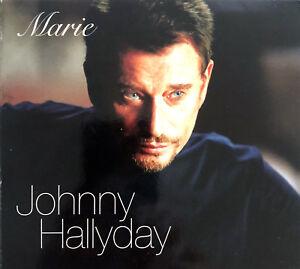 Johnny-Hallyday-CD-Single-Marie-Limited-Edition-France-EX-VG