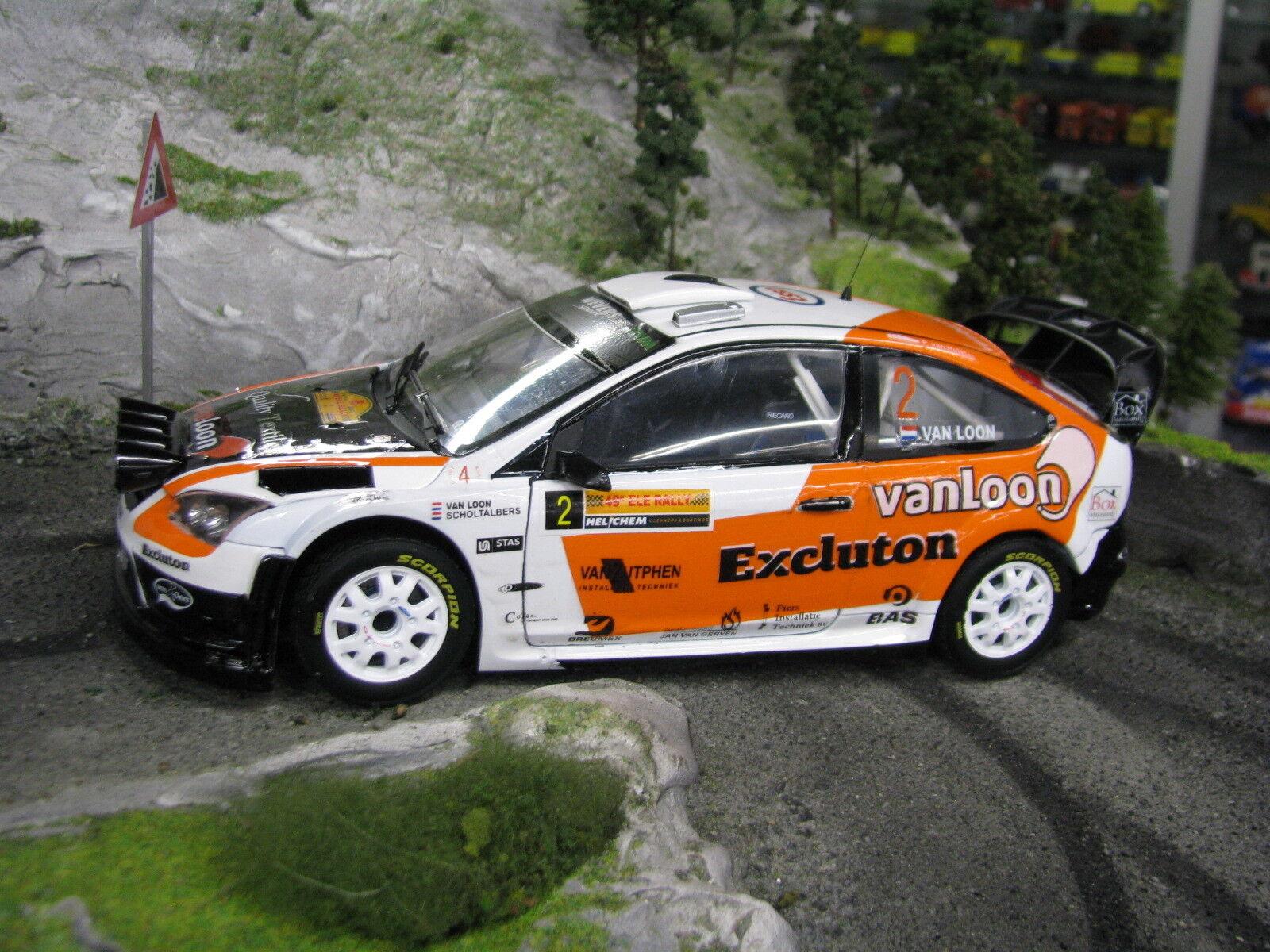QSP Ford Focus RS WRC '09  2 Erik van Loon / Harmen Scholtalbers ELE Rally 2013
