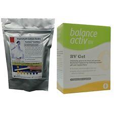5 x Vaginal Bacterial Thrush Tests & 1 x Balance Activ Gel (7 Pk) - Restores pH