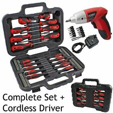 71 Pce Precision Magnetic Tip & Cordless Screwdriver Bit Phillips Pozi Torx Set
