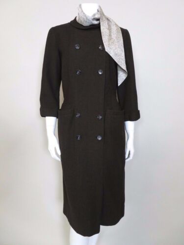 B.H. WRAGGE c. 1960s DOUBLE BREASTED DRESS