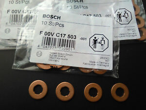 BOSCH-injector-holder-gasket-copper-washer-common-rail-Santa-Fe-2-0CRDI-2-2CRDI