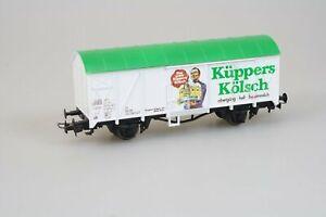 Liliput-22907-gedeckter-Gueterwagen-Bierwagen-Kuehlwagen-Kueppers-Koelsch-DB-in-H0