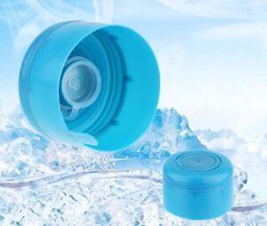 5Pcs Plastic Barrelled Water Bottle Caps Covers Lids Seal Reusable Dust-proof