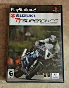 Details about SUZUKI TT SUPERBIKES: REAL ROAD RACING PLAYSTATION 2 (PS2)  GAME COMPLETE CYCLES
