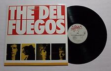 THE DEL-FUEGOS The Longest Day LP Slash Rec. 25174 US 1984 VG++ GOLD STAMP 7E