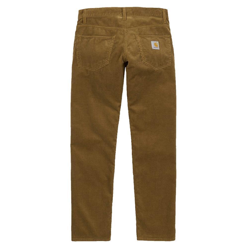 Carhartt Wip Klondike 12 wale Corduroy Regular tapered fit  Pant Hamilton Brown