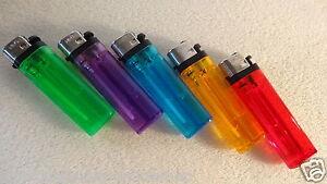 15xStk-Einweg-Feuerzeuge-5xFarben-Qualitaet-Masse-8x2-5x1cm-Neu-ohne-OVP
