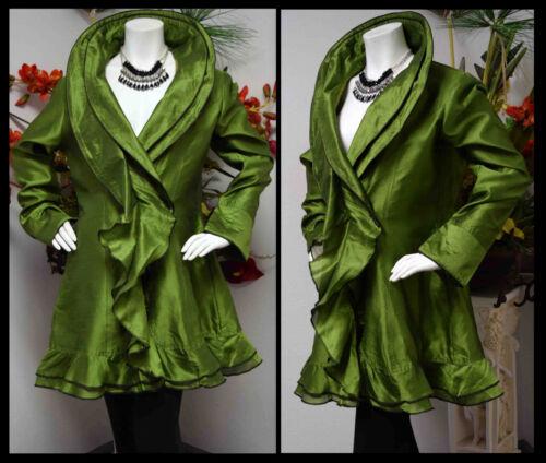 To et soie élégant Dupion de gamme M 3xl Poly Jacket Royal Designer haut OqCPP