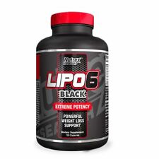 BRUCIA GRASSI DIMAGRANTE Nutrex Lipo-6 Black 120 CPS Capsule Termogenico