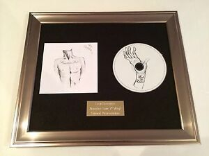 SIGNED-AUTOGRAPHED-BAT-FOR-LASHES-HAUNTED-MAN-CD-FRAMED-PRESENTATION-RARE