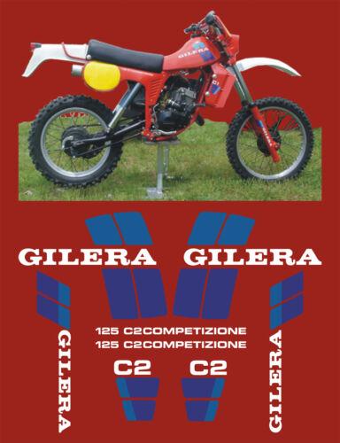 adesivi//adhesives//stickers//decal Kit Gilera C2 125 1982 84