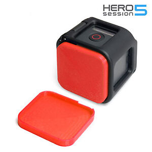 Linsen-Schutz-fuer-GoPro-HERO-5-Session-Lens-Cap-Protector-Abdeckung-Kappe-Red