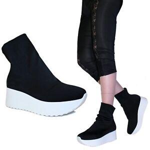 all'ingrosso online selezione speciale di molto carino Scarpe Donna Sneakers Ginnastica Calzino Calza Elasticizzato ...