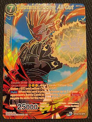Gotenks Going All Out Bt10 110 Spr Dragon Ball Super Tcg Near Mint Ebay