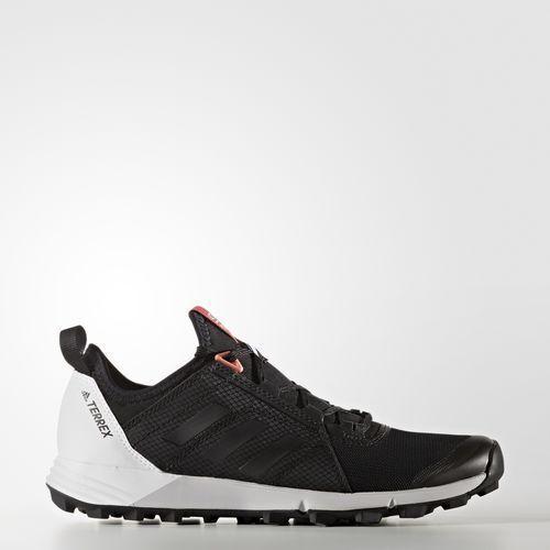 Adidas agravic - geschwindigkeit outdoor - schuhe - agravic frauen 7,5 - schwarz - weiße turnschuhe 7217ca