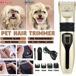 Recargable-Mascota-Gato-Perro-Hair-Cut-Clipper-Trimmer-Shaver-Grooming-Kit-Electrico