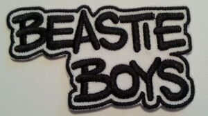Beastie-Boys-Embroidered-Applique-Patch-3-034-x-1-5-8-034-Iron-Sew-FREE-US-Mail