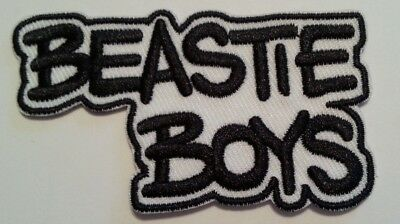 """Beastie Boys~Embroidered Applique Patch~3/"""" x 1 5//8/""""~Iron Sew~FREE US Mail"""