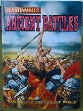 Warhammer Historical - Ancient Battles Supplement 2002 - Exc Con Free Post!
