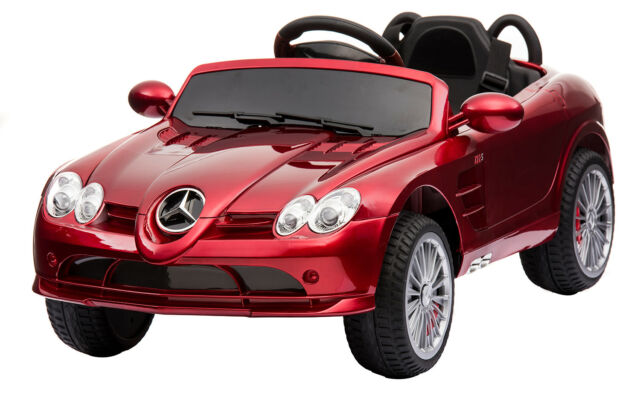 Licensed Mercedes Benz Kids Ride On Car 12v Electric Ed Remote Control Toy