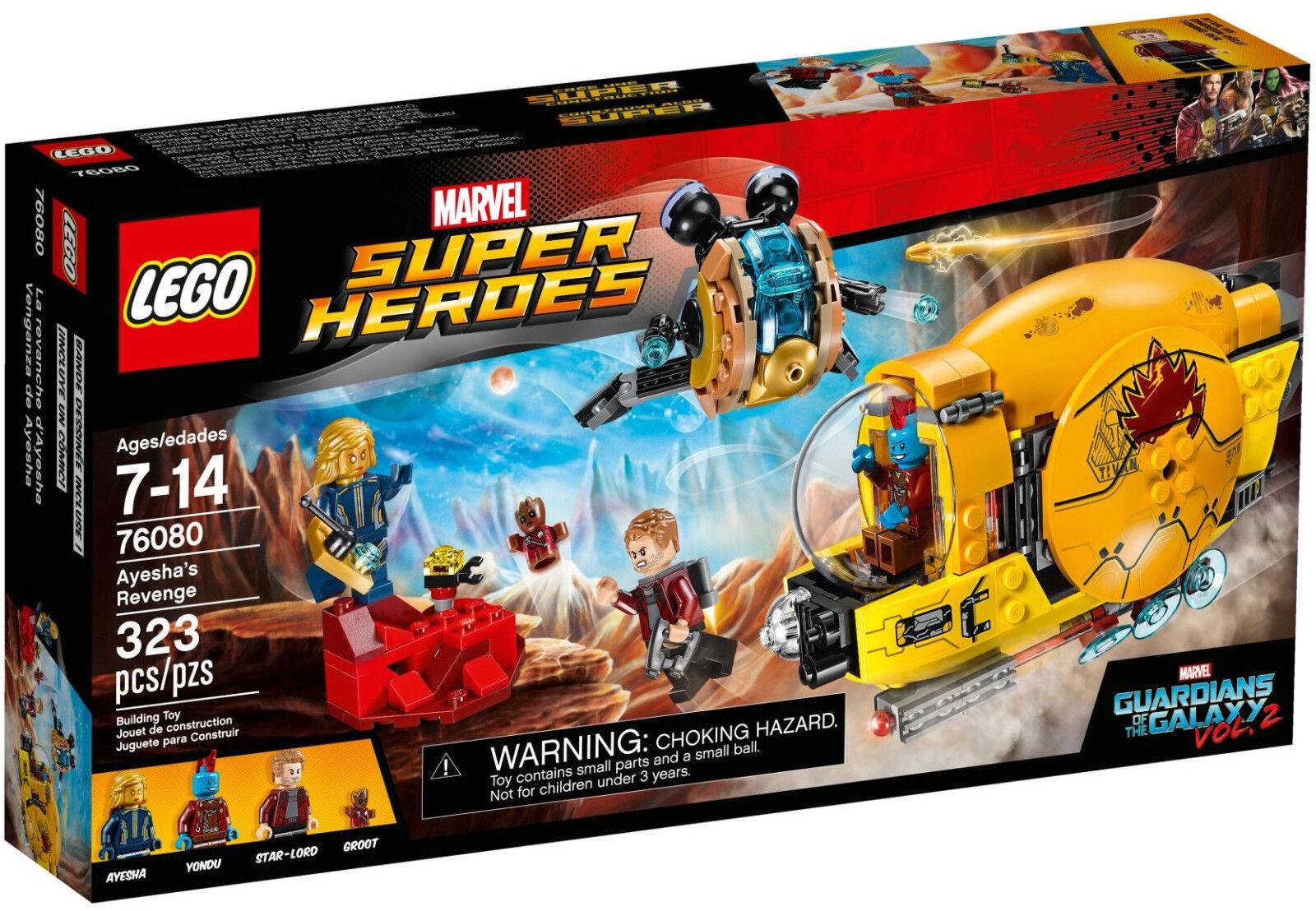 LEGO Marvel Super Heroes - 76080 Ayeshas Rache   Ayesha's Revenge - Neu & OVP