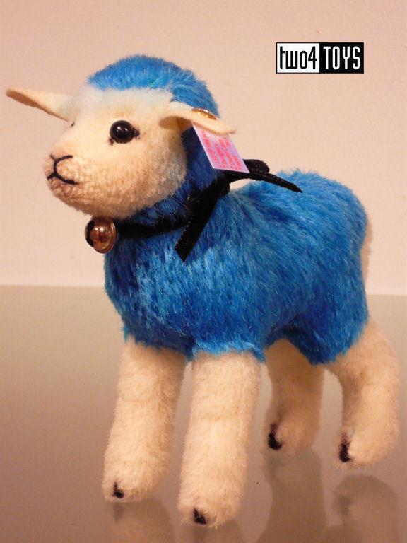 STEIFF Ltd CANDY blu WOOL LAMB DESIGNER CHOICE 5.6in/14cm - EAN 021626 RETIrosso