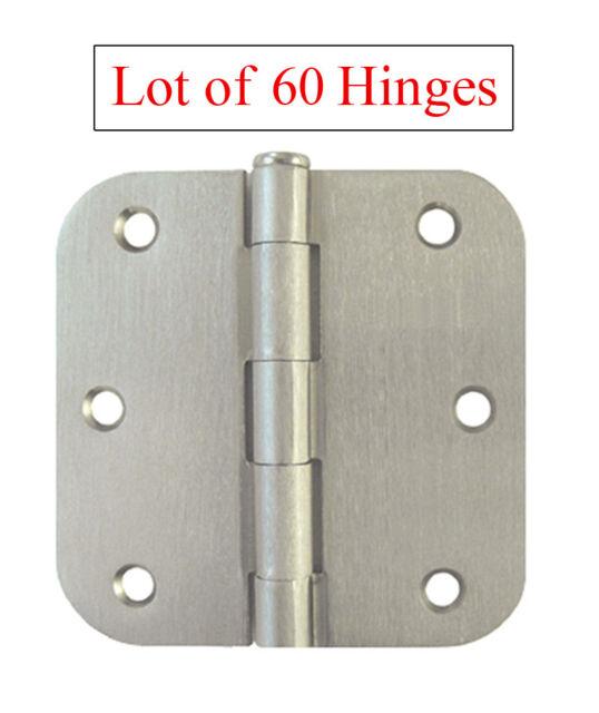 """60 Oil Rubbed Bronze Door Hinge 3.5/"""" With 1//4/"""" Radius"""