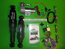 "The ORIGINAL 5"" air suspension kit, harley davidson air ride street glide"