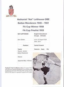 NAT-LOFTHOUSE-BOLTON-WANDERERS-1946-1961-RARE-ORIGINAL-HAND-SIGNED-PICTURE