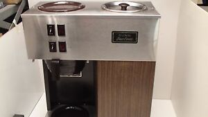 My Bunn Coffee Maker Not Working : BUNN VPR COFFEE MAKER MACHINE WORKING CONDITIONS eBay