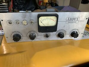 Vintage-Ampex-Tube-Reel-To-Reel-Pre-Amplifier-Tube-Amp-READ-LISTING