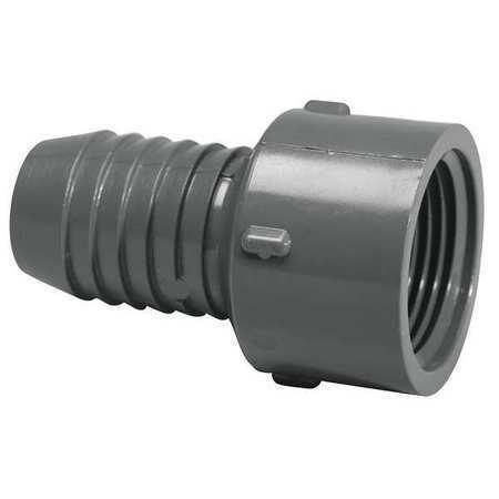 "LASCO 1435-012 1-1//4/"" Insert x FNPT PVC Female Adapter"