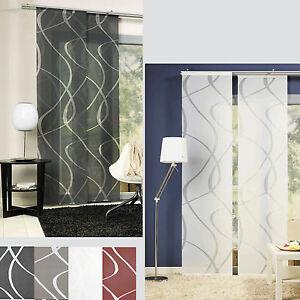 Vague-Rideau-coulissant-Panneau-Separation-de-piece-japonais-Neutex-deko-trends