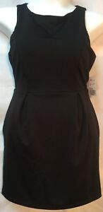 Able Forever 21 Juniors Size Large Lbd Sleeveless Black Dress With Cutout Back Nwt Beautiful And Charming