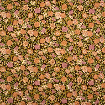 1970s Small Print Original Floral Vintage Boho Wallpaper Ebay