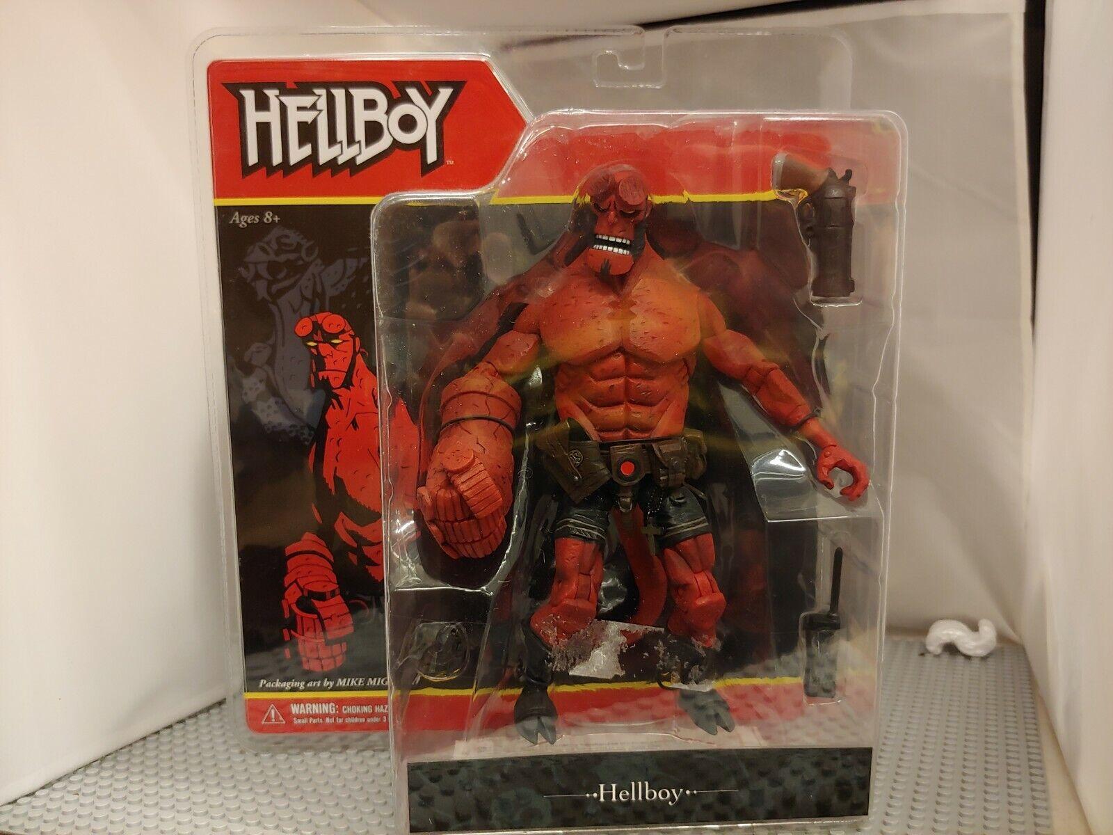 Mezco HELLBOY comic SERIES 1 FIGURE 2005 Ouvrir la Bouche variante