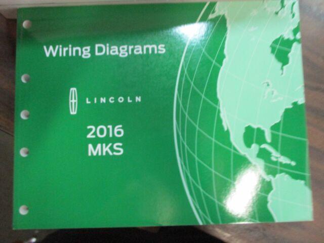 2016 Ford Mks Wiring Diagrams Repair Service Manual