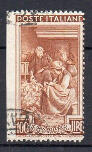 1950-REPUBBLICA-ITALIA-AL-LAVORO-100-LIRE-DENT-13-1-4-NON-DENT-SINISTRA-D-1038