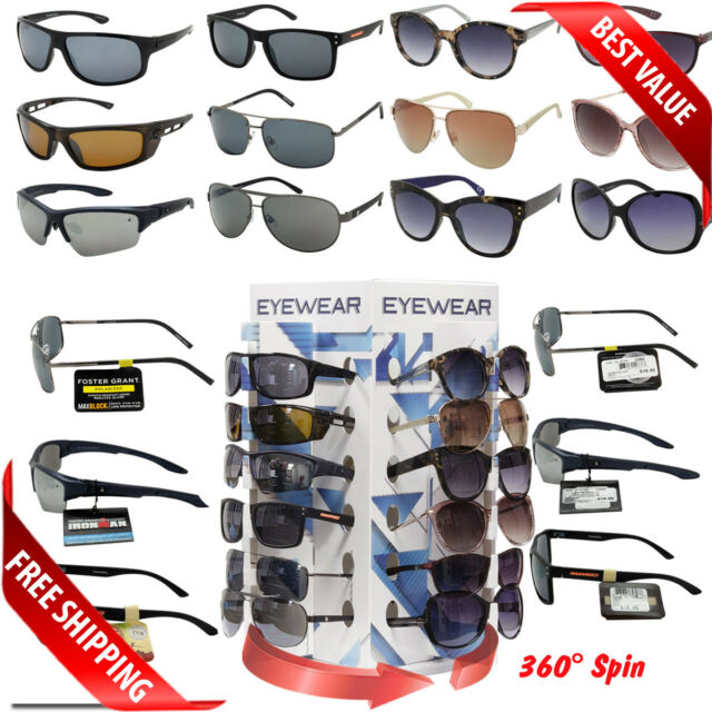 a58fc68bd9 Wholesale Foster Grant Sunglasses WITH Spinning Counter Display! Assorted  Styles