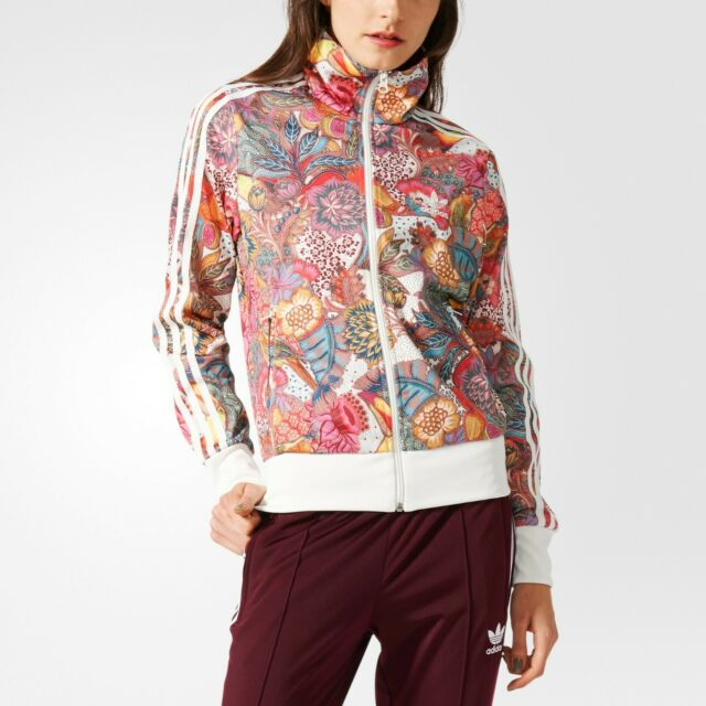 Women's Adidas Originals Fugiprabali Track Top Jacket (BJ8408) size UK12