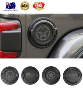 SHINEKA Fuel Tank Cover LID for Jeep Wrangler JL 2018-2020 High Quality DIY NEW