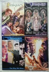 The-Uniques-Tales-Vol-1-2-3-Comfort-Love-Adam-Withers-Comic-books-Signed