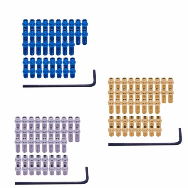 DMR Flip Pins for Vault Pedals 44 Piece Set Blue