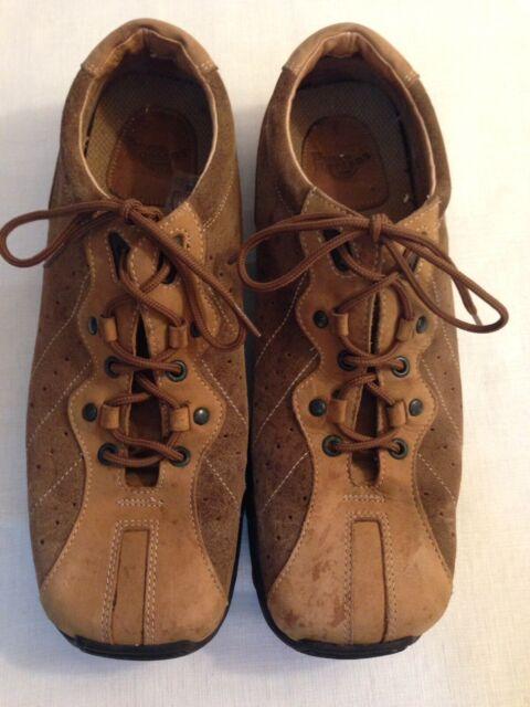 Dr. Doc Martens Brown LEATHER Oxfords 2-Tone Men's Size US12 Shoes