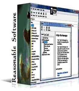 Detalles de 7 software de archivo ZIP compresión de archivos Zip Utility  para Microsoft Windows- ver título original